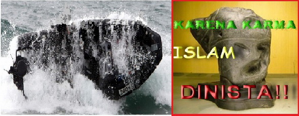 """Sekoci Terbalik Untuk Menyelamatkan (Penghasung Karma """"Islami"""