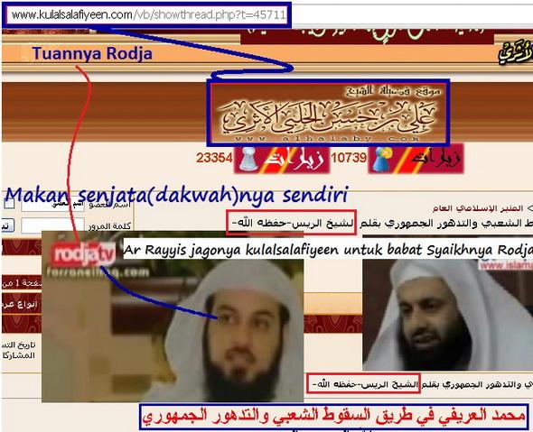 Kulalsalafiyeen publikasikan bukti-bukti kesesatan Maskot Rodja_resize