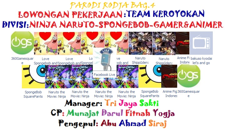 Parodi Rodja Bag 4 Loker Team Keroyokan