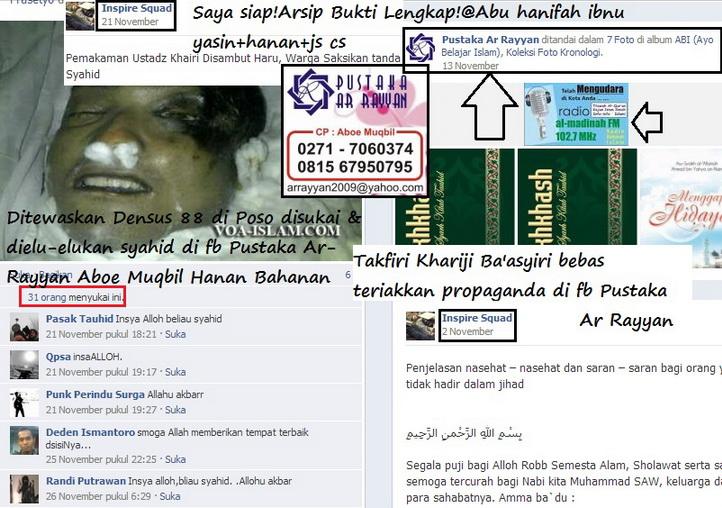 teriakan takfiri khariji basyiri di fb arrayyan