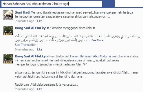 Mengais dukungan hizbiyyin