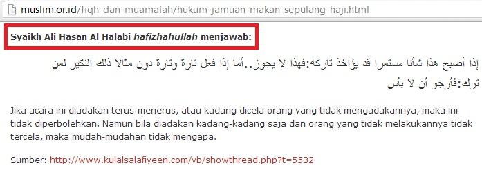 muslim.or.id dan ali hasan kulalsalafiyeen