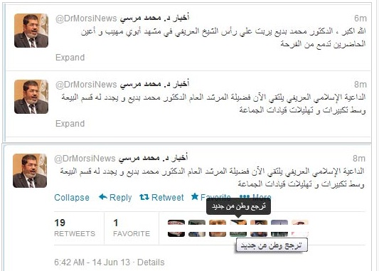 DR. Mursi resmi umumkan pada dunia program Ikhwanisasi Mesir
