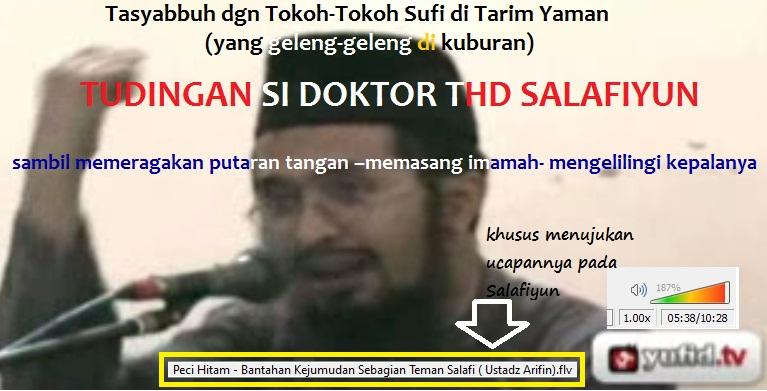 tuduhan arifin badri tasyabbuh dgn tokoh2 sufi