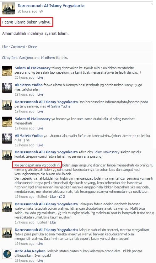 Screenshot Orang bodoh -Darussunnah Munajat-