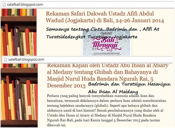 Screenshot Sululy Badrimin dan cintanya dengan dakwah Hizbiyun Turatsiyun Hasaniyun