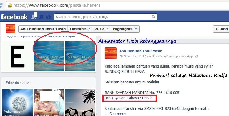 Halabiyun Ibnu Yasin sebarkan virus Rodja dengan hiasan penerbit dan situs hizbinya 2