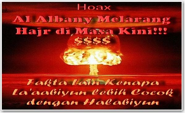 Hoax Al Albany Melarang Hajr di Masa Kini