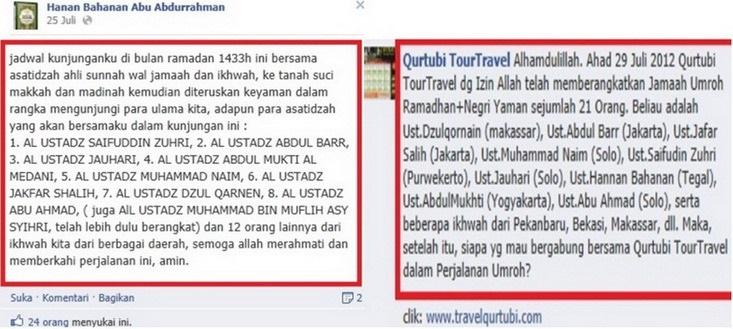 Qurtubi Travel mengumumkan keberangkatannya team MLM