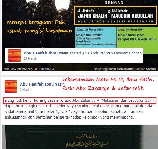 Trio MLM dan duet maut Jafar Salih dan dedengkot Halabiyun Rodja
