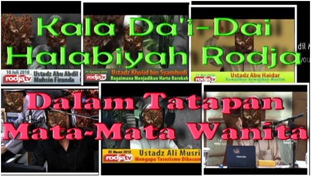 Dai Rodja dalam tatapan mata-mata wanita