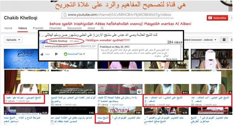 akun Chakib Khelloqi adalah jaringan Halabiyun