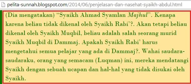 Apakah Syaikh Rabi harus mengetahui semua pelajar yang ada di Dammaj