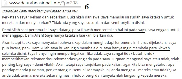 tugas Asy Syaikh Abdul Hadi di Indonesia….saya hanya ingin membela para ikhwah selainku di sini.