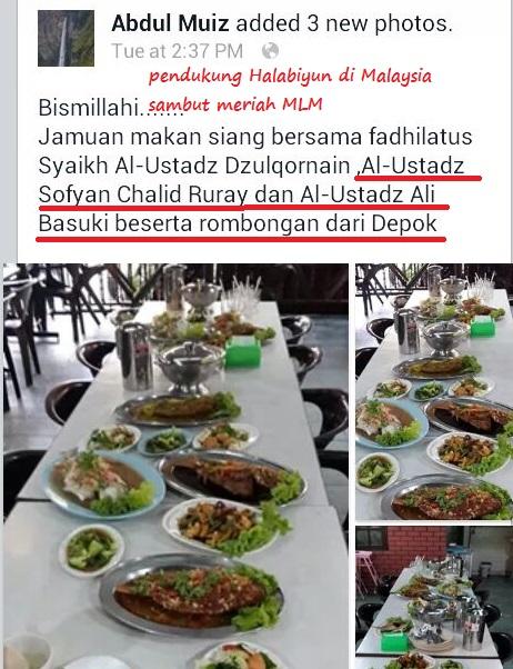 terbaru aksi MLM di Malaysia dipublikasikan Halabiyun