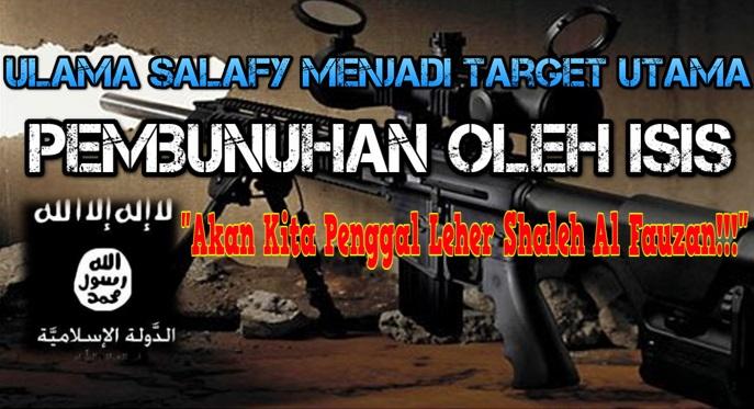 ulama salafy menjadi terget utama pembunuhan ISIS