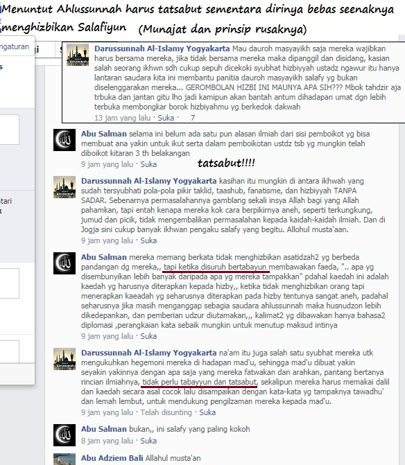 Syubhat rusak gembong MLM Yogyakarta dan Halabiyun, saling gayung bersambut