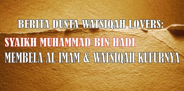 berita dusta watsiqah lovers