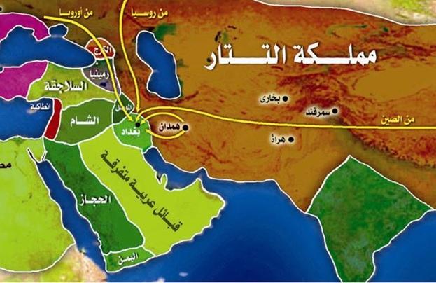 jatuhnya kota baghdad oleh pasukan musyrik tartar hulagu khan