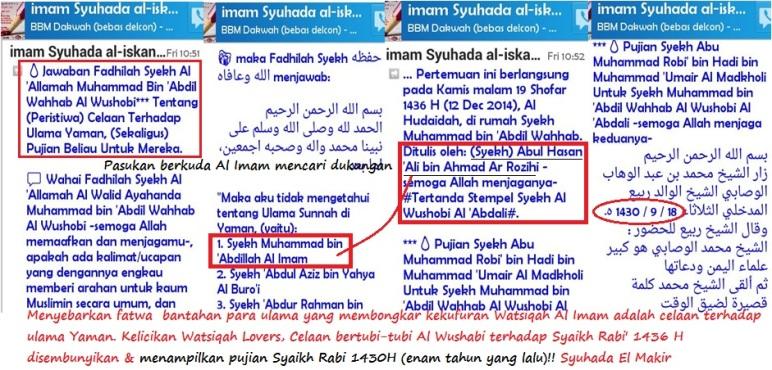 Menelanjangi makar Syuhada gembong Watsiqah Lovers Bandung