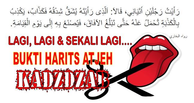 Lagi.. Harits Aceh DUSTA