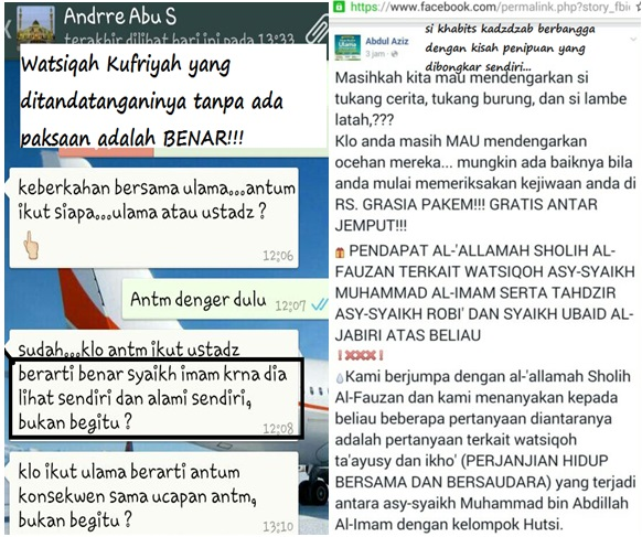 """MLM-Watsiqah Lovers menyambut gembira """"dukungan"""" Syaikh Fauzan atas Al-Imam"""
