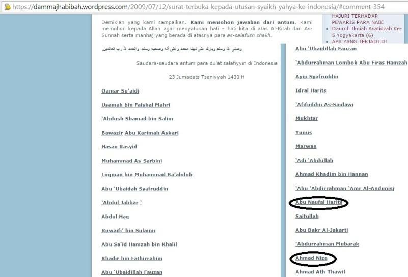 Sejarah mendustakan bualan Abdul Hadi Umairi.
