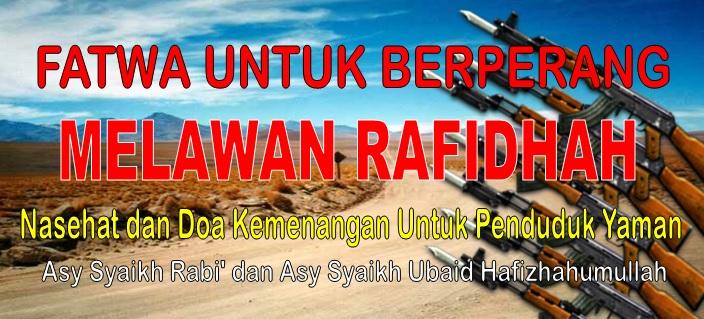 fatwa untuk berperang dan nasehat dua syaikh yang mulia