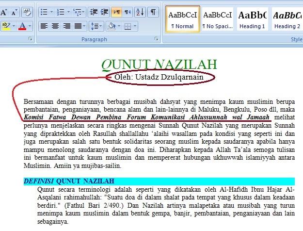 Mufti LJ, mengawal dan memberikan payung hukum bagi Laskar Jihad