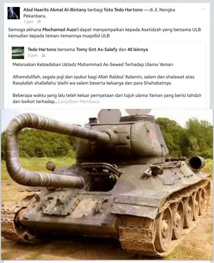 Aksi Abul Harits Akmal Multaqa Salafy Indonesia bersinergi bersama MLM