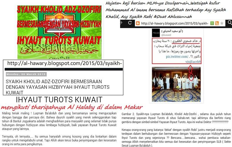 celaan barisan MLM terhadap Syaikh Khalid