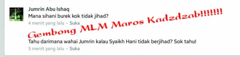 gembong MLM Maros Kadzdzab
