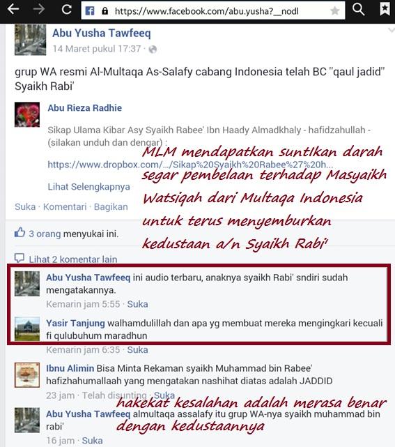 Pengaruh hebat stempel Jadid dari makar Multaqa Indonesia