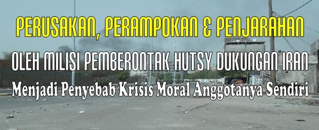 penyebab krisis moral hutsy